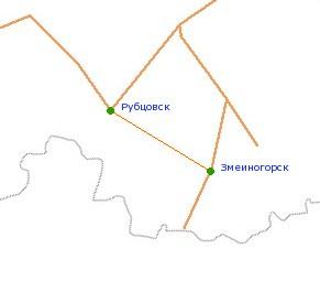 Схема г рубцовск